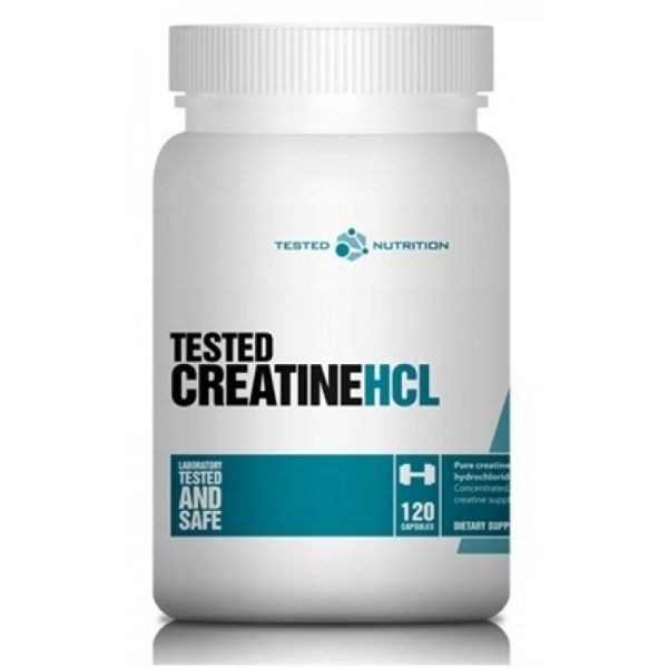 Creatine HCL - 120 caps. (TESTED)