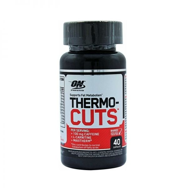 THERMOCUTS - 40 CÁPS