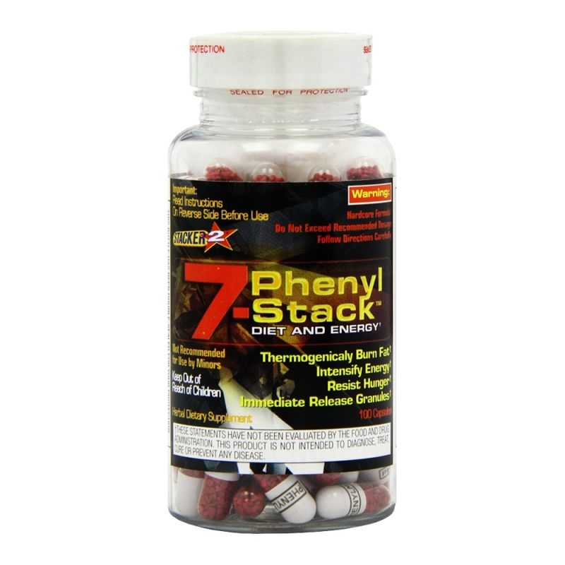 STACKER 7 - PHENYL STACK - 100 CÁPS. - ProteinaCanaria.com