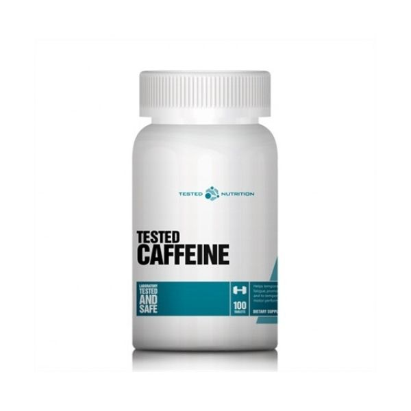TESTED CAFFEINE 100 TABS (TESTED NUTRITION)