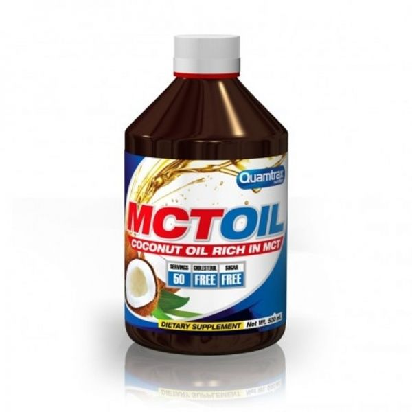 MCT Oil - 500 ml. (QUAMTRAX)