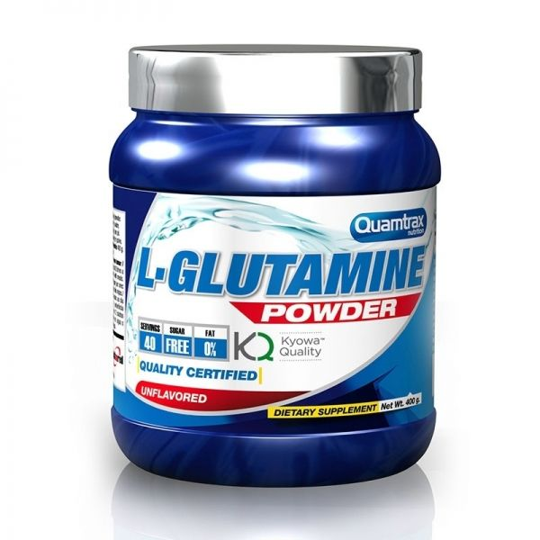 L-Glutamine Powder - 400 g. (QUAMTRAX)