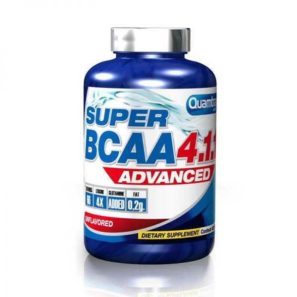 Super BCAA 4.1.1 Advanced - 200 comp. (QUAMTRAX)