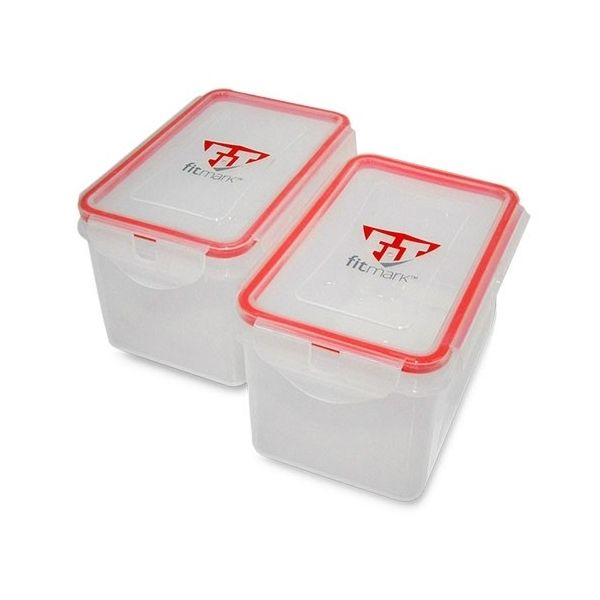 MEAL CONTAINER - TUPPERWARE PARA MALETA FITMARK (1 unidad)