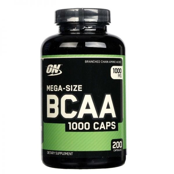 BCAA 1000 - 200 caps. (ON)
