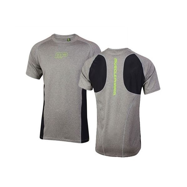 CAMISETA MUSCLEPHARM SLIM FIT GRIS