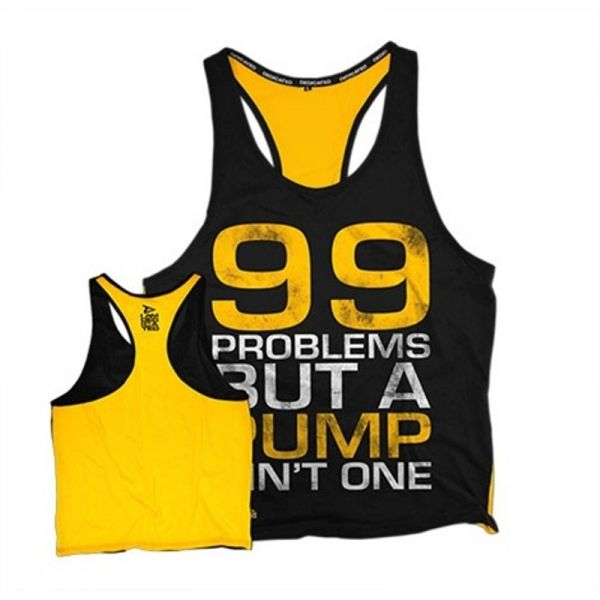 "STRINGER - CAMISETA DE TIRANTES ABIERTA - ""99 PROBLEMS"""