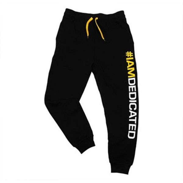 "SLIM-FIT PANTS - PANTALÓN DEPORTIVO - ""IAMDEDICATED"""