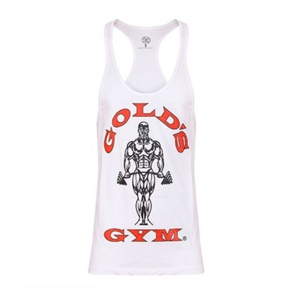 STRINGER JOE PREMIUM - CAMISETA DE TIRANTES - (GOLD'S GYM)