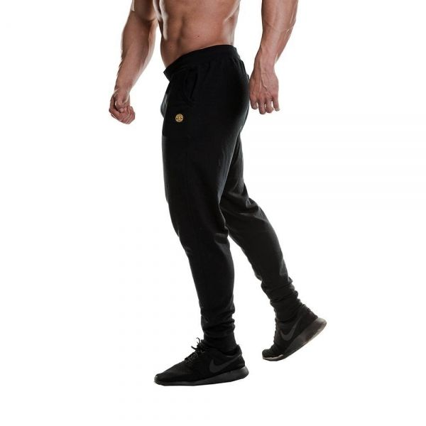 FITTER JOGGER PANT - PANTALÓN DE DEPORTE LARGO COLOR NEGRO (GOLD´S GYM)