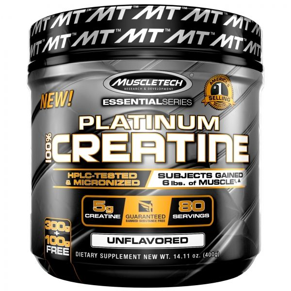 PLATINUM 100% CREATINE  - 400 GR.