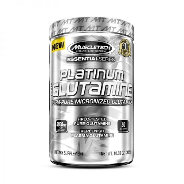PLATINUM MICRONIZED GLUTAMINE - 300 GR.