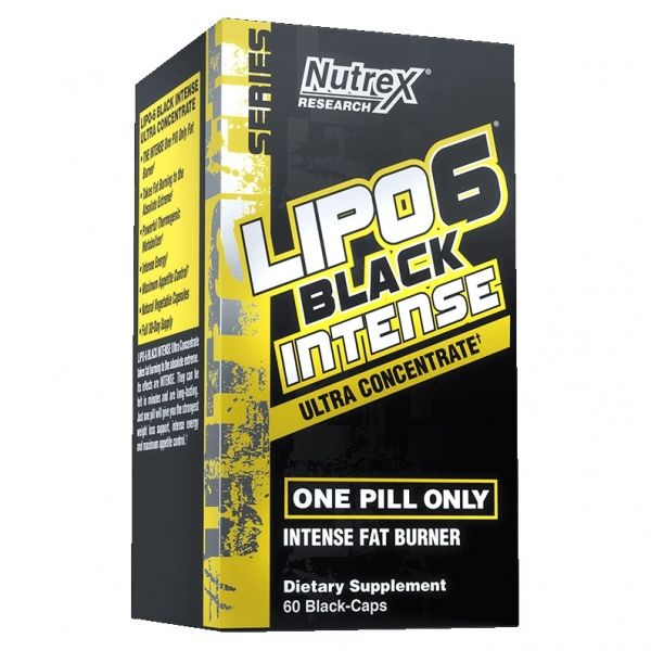 LIPO 6 BLACK INTENSE ULTRACONCENTRADO - 60 CÁPS.