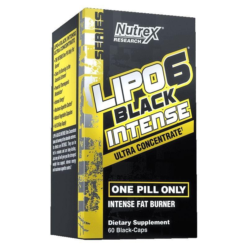 LIPO 6 BLACK INTENSE ULTRACONCENTRADO - 60 CÁPS.