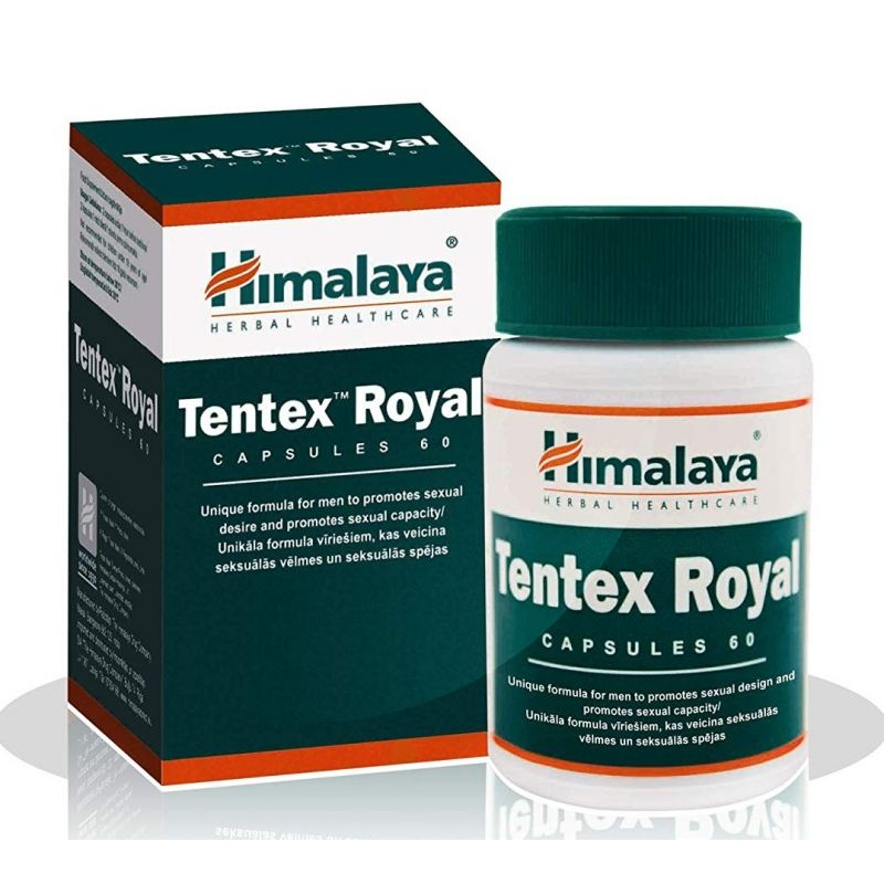 TENTEX ROYAL 60 CÁPS. (HIMALAYA)