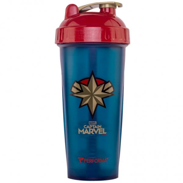 SHAKER MEZCLADOR HERO SERIES CAPTAIN MARVEL (800ml)