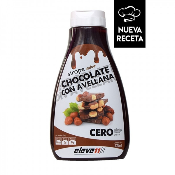 SIROPE SABOR CHOCOLATE CON AVELLANA - 425 ML.