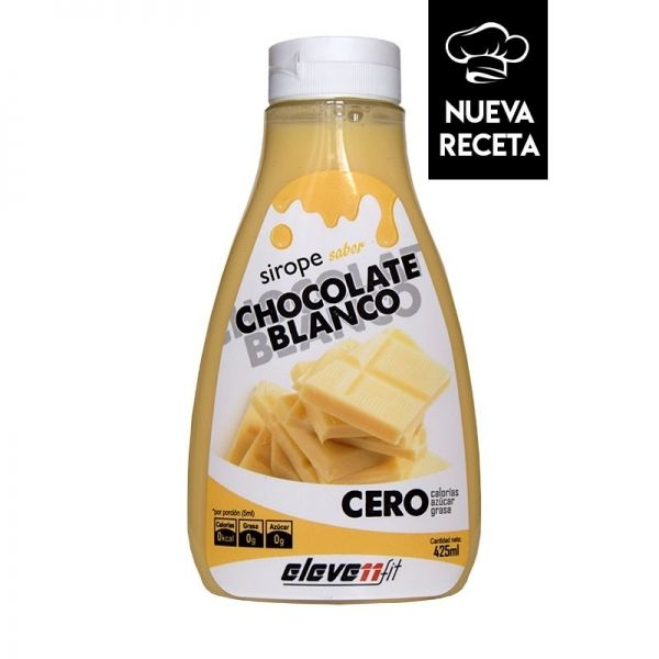 SIROPE SABOR CHOCOLATE BLANCO - 425 ML.