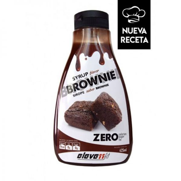 SYRUP FLAVOR BROWNIE (SIROPE SABOR BROWNIE) - 425 ML.