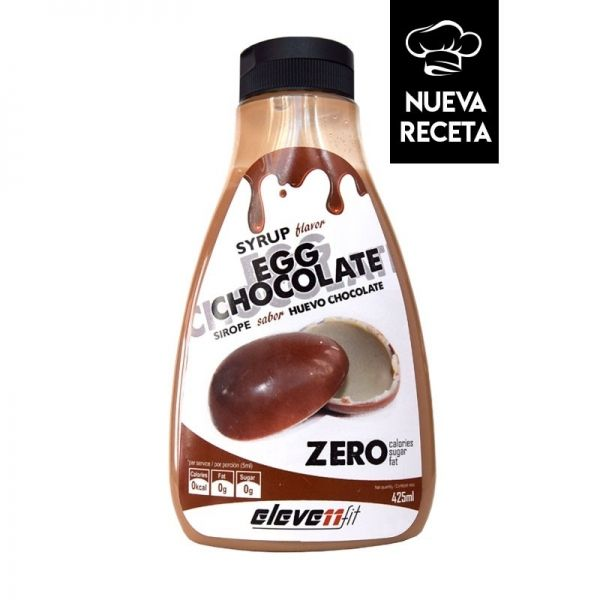 SYRUP FLAVOR EGG CHOCOLATE (SIROPE SABOR HUEVO DE CHOCOLATE) - 425 ML.