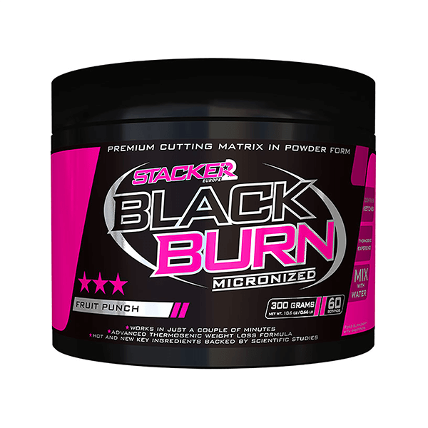 BLACK BURN MICRONIZED (QUEMAGRASAS) 300gr. (STACKER2)