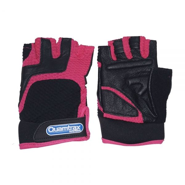 GUANTE DE CUERO ROSA | GLOVES QUALITY GOAT LEATHER (QUAMTRAX)