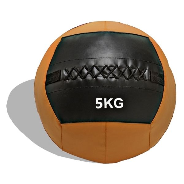 WALL BALL (PELOTA MEDICINAL) DOBLE COSTURA 5KG.