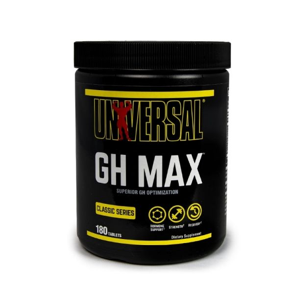 GH MAX 180 TABLETS (UNIVERSAL NUTRITION)