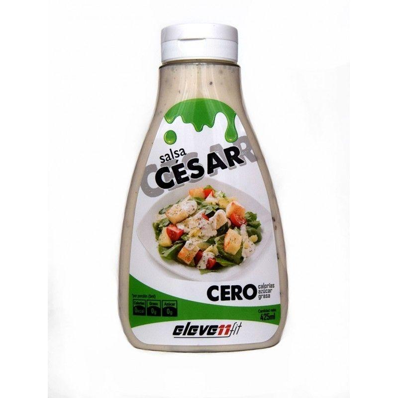 SAUCE CAESAR (SALSA CÉSAR) CERO  - 425 ML. (ELEVENFIT)