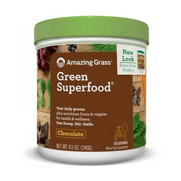 AG GREEN SUPERFOOD CHOCOLATE 240 GR (AMAZING GRASS)