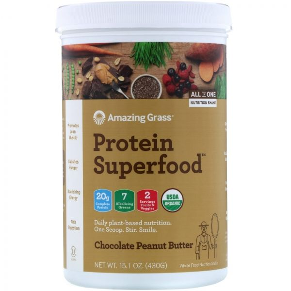 PROTEIN SUPERFOOD 445 GR. (AMAZING GRASS)