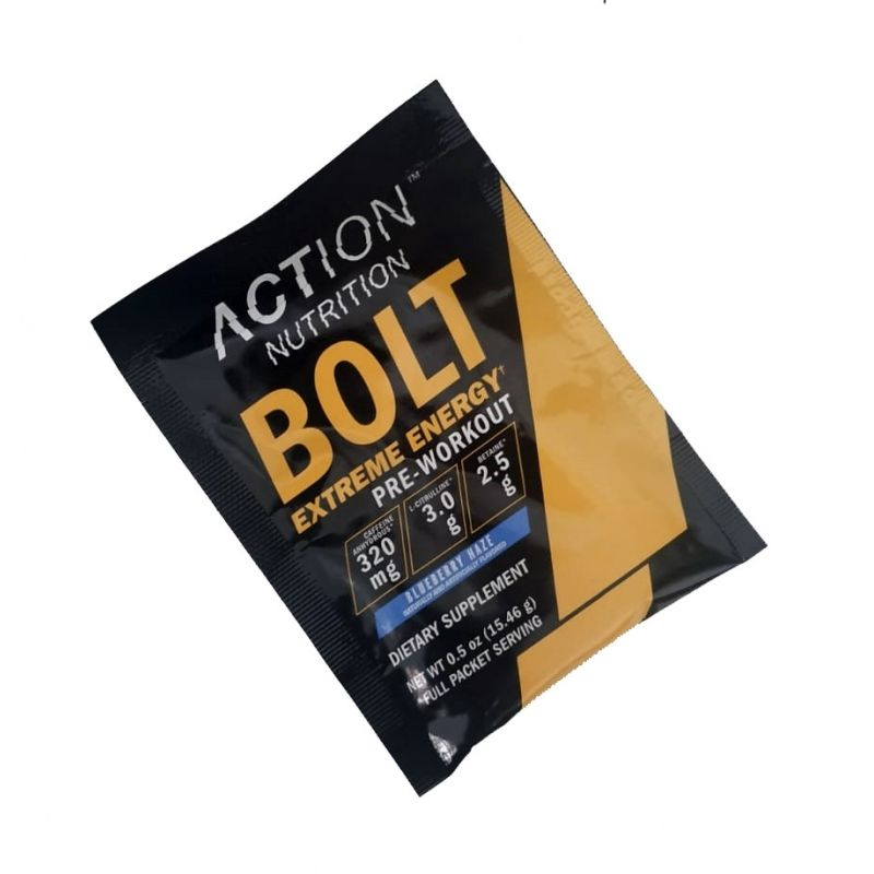 BOLT EXTREME ENERGY MONODOSIS (ACTION NUTRITION)