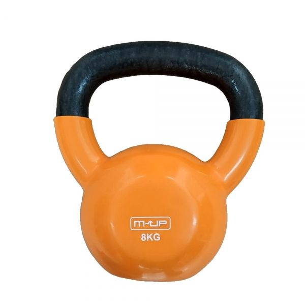 KETTLE BELL DE VINILO 8 KG. (M-UP)