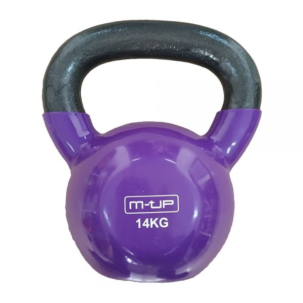 KETTLE BELL DE VINILO 14 KG. (M-UP)