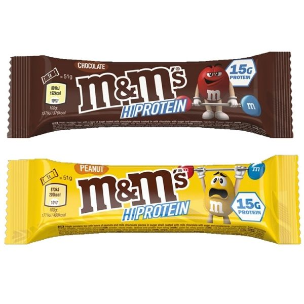 M&M'S PROTEIN CHOCOLATE BAR 51 GR.