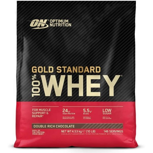 100% WHEY GOLD STANDARD 4,5 kgs.