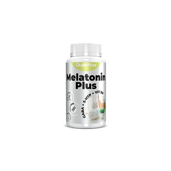 MELATONIN PLUS 60 VEGGIE CAPS (QUAMTRAX)