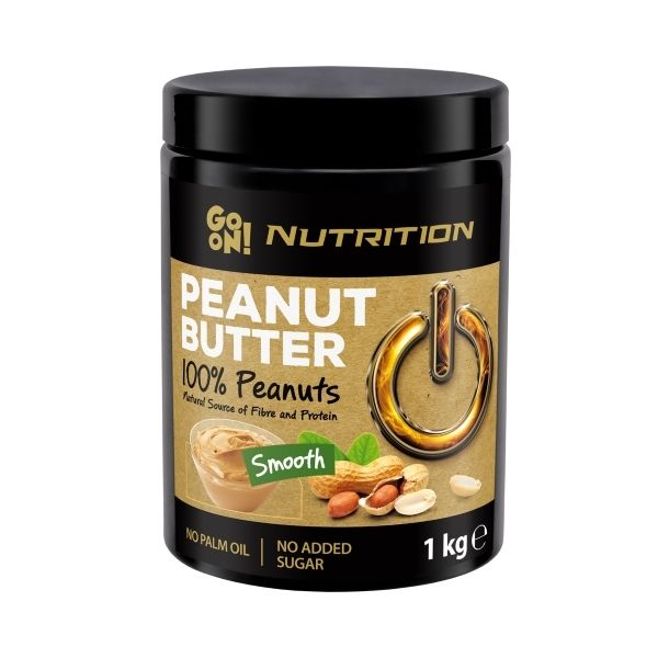 PEANUT BUTTER 100% SMOOTH (GO ON NUTRITION)