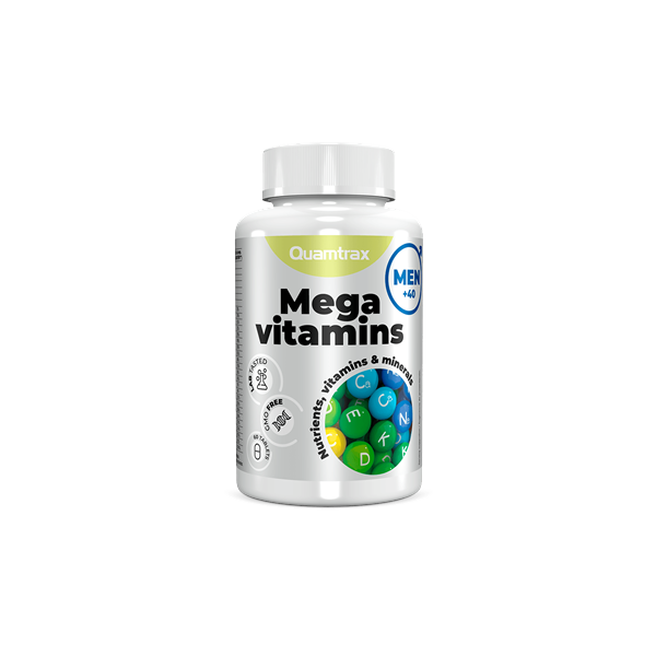 MEGA VITAMINS MAN - 60 COMP.
