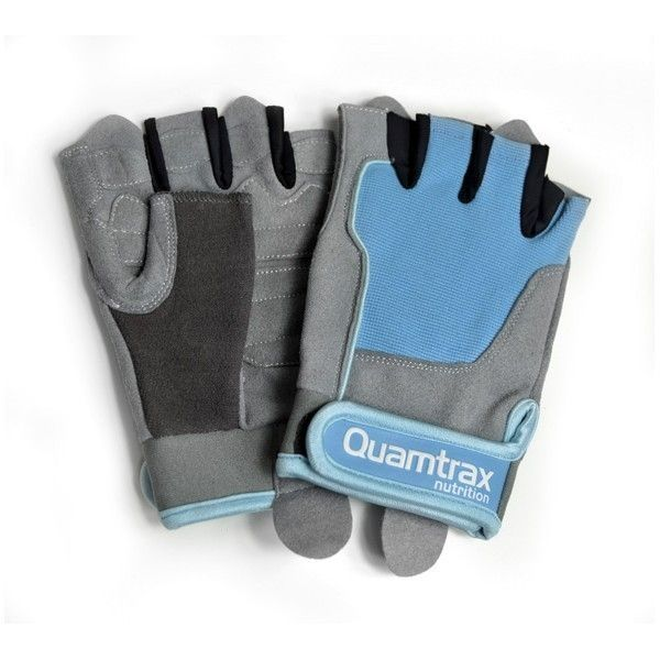 GUANTE WOMEN POWER AZUL GRIS
