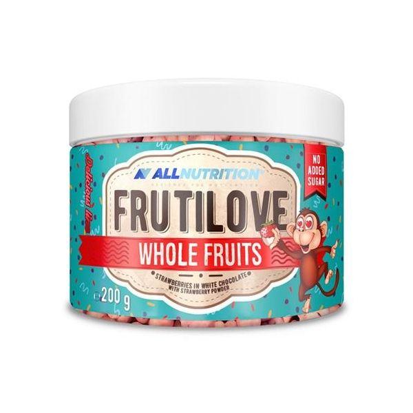 FRUTILOVE WHOLE FRUITS FRESAS CON CHOCOLATE BLANCO 200G (ALLNUTRITION)